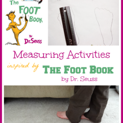 Measuring with the Foot Book by Dr. Seuss