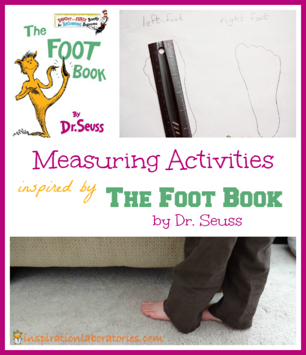 Measuring Activities Inspired by the Foot Book by Dr. Seuss