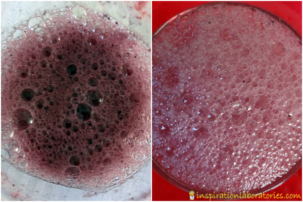 Valentine Potion and Tasting Experiment