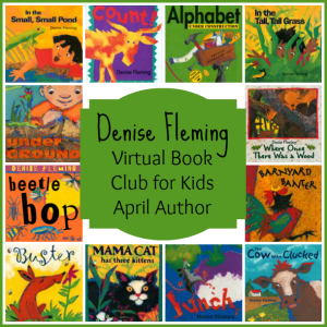 Virtual Book Club for Kids: April Author is Denise Fleming