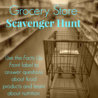 Facts Up Front Initiative and a Grocery Store Scavenger Hunt