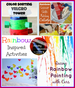 The Sunday Showcase - Rainbow Inspired Activities