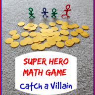 Super Hero Math Game: Catch a Villain