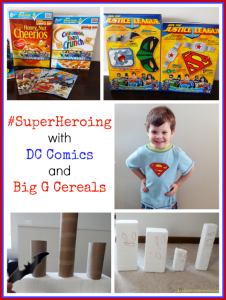 #SuperHeroing with DC Comics and Big G Cereals