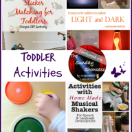 The Sunday Showcase - Toddler Activities