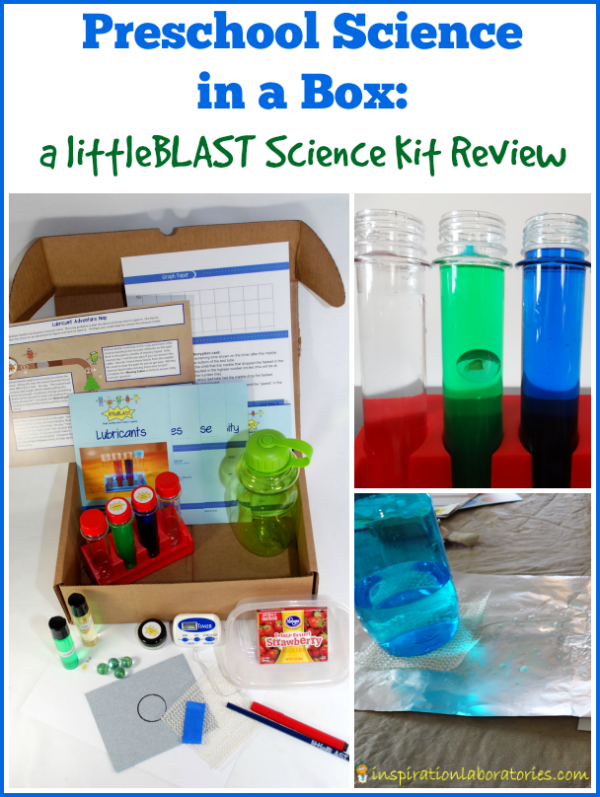 Preschool Science in a Box: a littleBLAST Science Kit Review