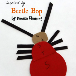 Build a Beetle Game {Denise Fleming Virtual Book Club for Kids}