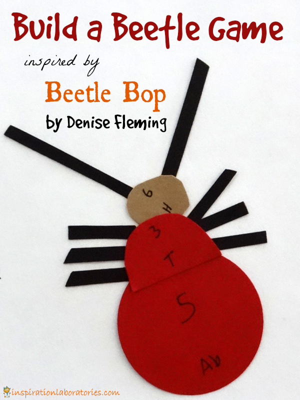 Build a Beetle Game Inspired by Beetle Bop by Denise Fleming