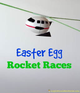 Easter Egg Rocket Races - Create Easter egg rockets from plastic eggs. Then, race them two different ways: blast off to the sky or launch them back down to Earth.