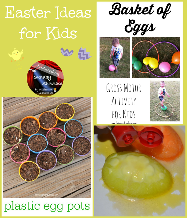 Easter Ideas for Kids Featured on the Sunday Showcase at Inspiration Laboratories