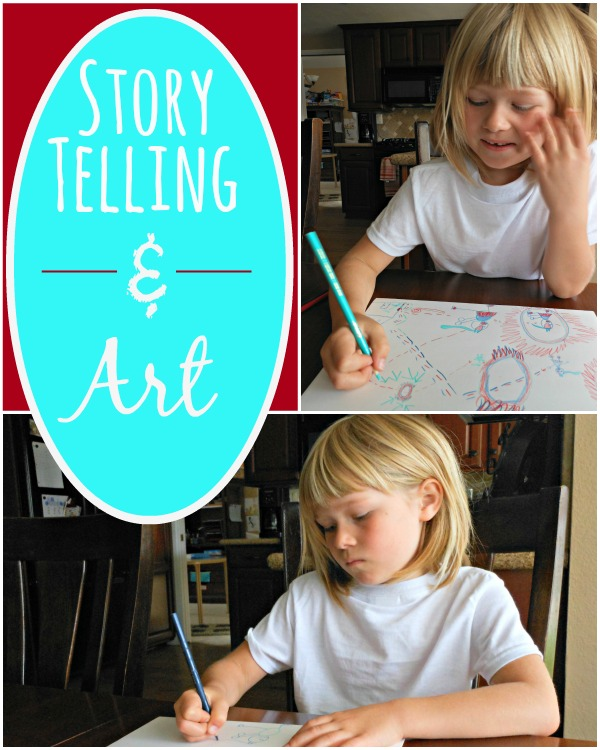 What a fun storytelling and art activity!