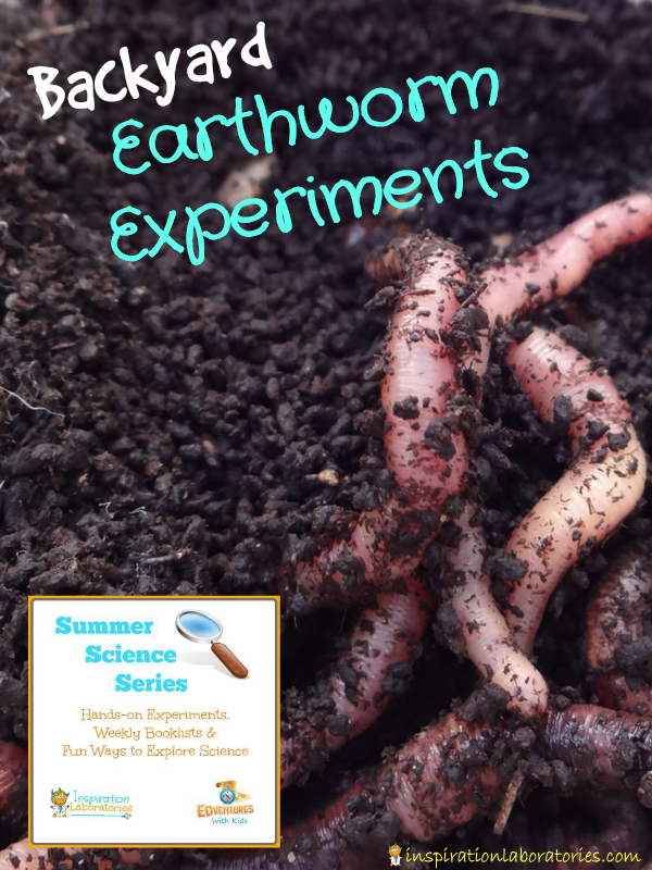 Backyard Earthworm Experiments
