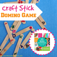 Craft Stick Domino Game