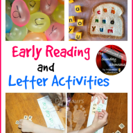 The Sunday Showcase - Early Reading & Letter Activities