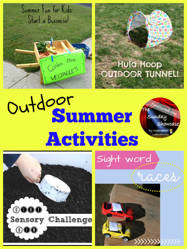 Outdoor Summer Activities Featured on the Sunday Showcase at Inspiration Laboratories