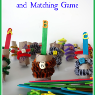 Alphabet Puppets and Matching Game