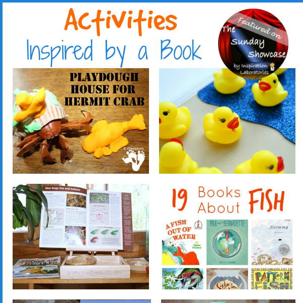 Activities Inspired by a Book Featured on the Sunday Showcase at Inspiration Laboratories