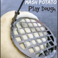Mash Potato Play Dough {Edible Play Dough}