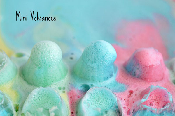 Mini Volcanoes from Blog Me Mom