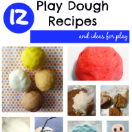 12 Play Dough Recipes and Ideas