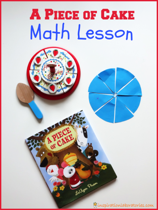 A Piece of Cake Math Lesson {and free printable}