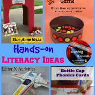 The Sunday Showcase - Hands-on Literacy Activities
