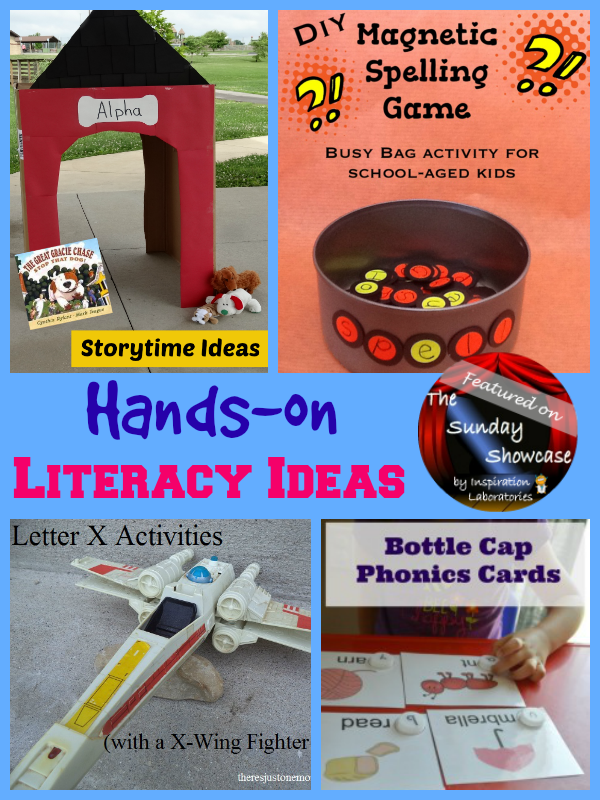 Hands-on Literacy Activities Featured on the Sunday Showcase at Inspiration Laboratories
