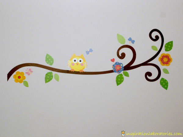 Unique Owl and Branch Wall Decal