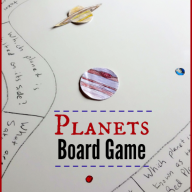 DIY Planets Board Game