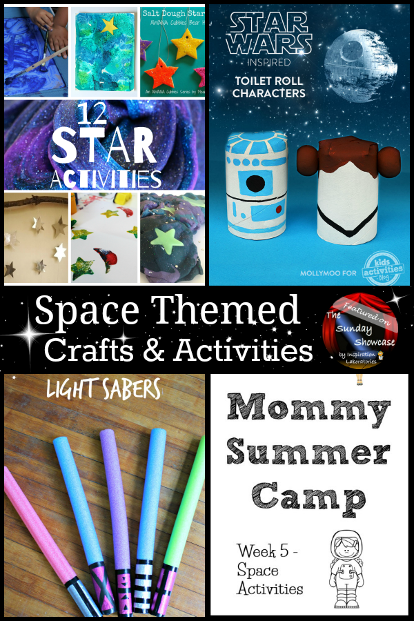 Space Crafts and Activities Featured on the Sunday Showcase at Inspiration Laboratories
