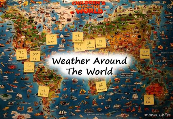 weather around the world