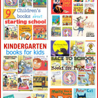 50 Books about Going Back to School {Sunday Showcase}