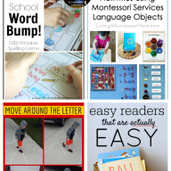 The Sunday Showcase - Early Reading Activities