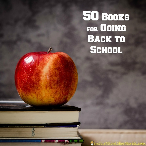 Are you looking for books to help your child starting school? I have a few lists to help you out. Each list features books about going back to school.