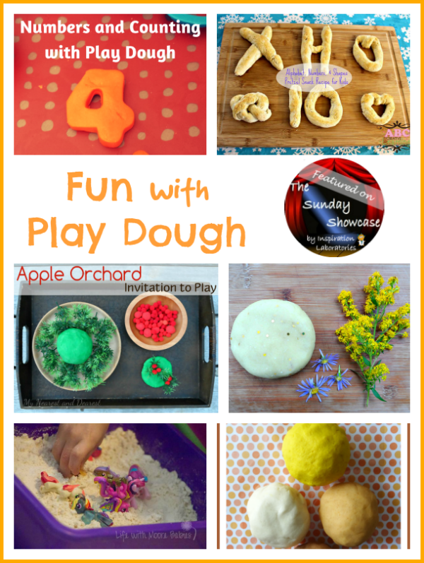Play Dough Fun Featured on the Sunday Showcase at Inspiration Laboratories