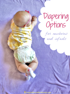 Diapering Options for Babies