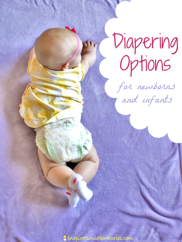 Diapering Options for Newborns and Infants