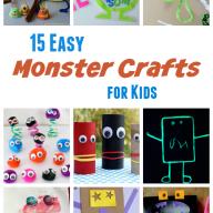 15 Easy Monster Crafts for Kids