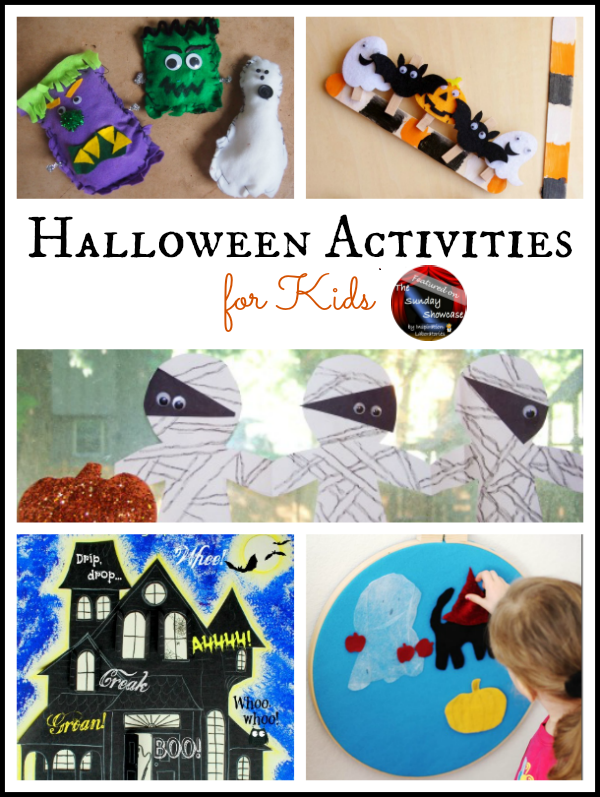 Halloween Activities Featured on the Sunday Showcase at Inspiration Laboratories
