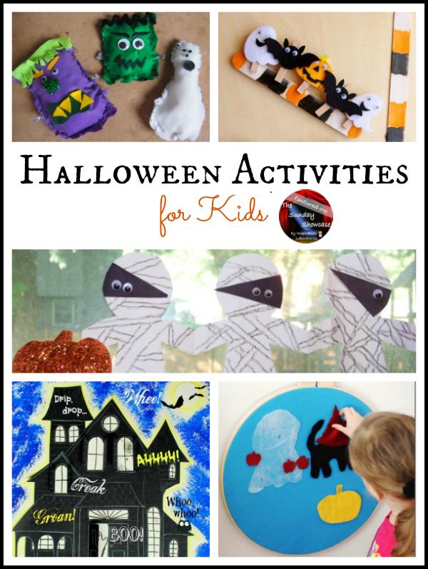 Halloween Activities Featured on the Sunday Showcase at Inspiration Laboratories