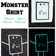Glow in the Dark Monster Shirt