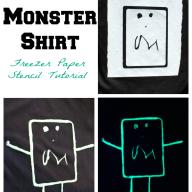 Glow in the Dark Monster Shirt