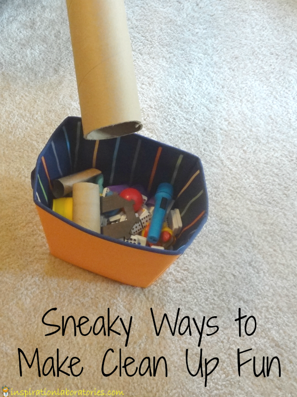 Sneaky Ways to Make Clean Up Fun