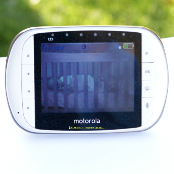 Motorola video baby monitor