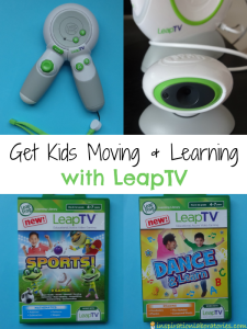 LeapTV Gets Kids Moving and Learning