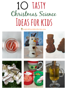 10 Tasty Christmas Science Ideas
