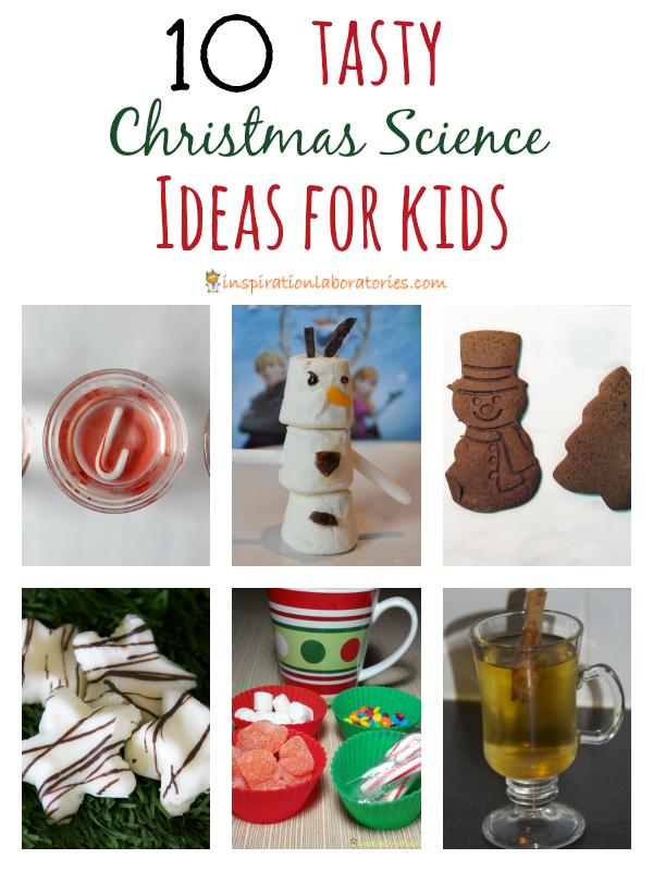 Tasty Christmas Science Ideas for Kids