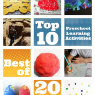 Top 10 Preschool Learning Activities of 2014