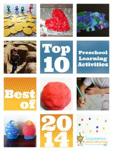 Top 10 Preschool Learning Activities of 2014
