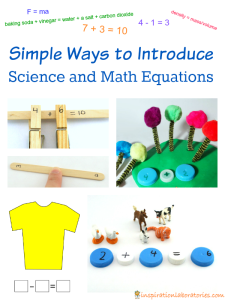 Introducing Equations to Kids